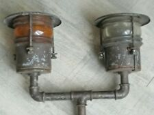 Lamp Industrial Ancient Boat/Narrowboat Years 30's Ship Lamp Nautical