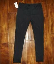 b06bc6f2f6 NWT Womens MARIKA TEK Black Performance Fitted Athletic Pants Size L Large  12-14