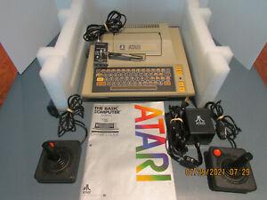 Atari 400 Computer Bundle w/Power Supply, Switch box, Game controllers, Manual