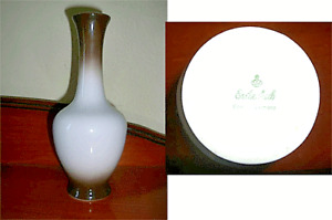 Vintage Eschenbach Art Deco Porcelain Vase 19cms Tall