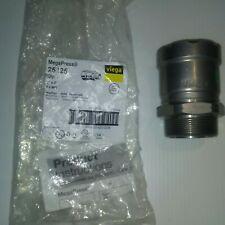 """New listing Viega Megapress 25125, 2""""P x 2""""Mpt, Carbon Steel Adapter, New, Free Shipping"""