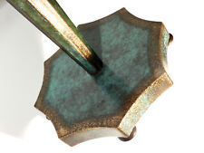 WMF Ikora Metall Lampe ° seltene Art Deco Tischlampe ° Dekor Haustein Schule (Z
