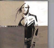 Lyck-Dirty Love cd maxi single 4 tracks cardsleeve