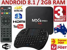 MXQ Pro HD WIFI 4K Quad-Core Android Smart TV Box UPGRADED Release + 2GB RAM