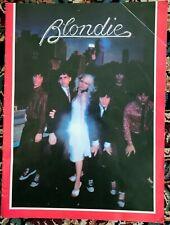 Blondie 1979 Parallel Lines Tour Concert Program Tour Book -Free Shipping