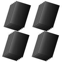 20er Set Dauerbackpapier schwarz | Dauer Backfolie Backpapier | Dauerbackfolie