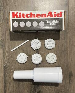 Kitchen Aid Pasta Maker Plates Stand Mixer Attachment Storage Stomper Case