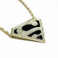 "Collier ""S"" Superman Style Hip Hop Homme / Femme Neuf"
