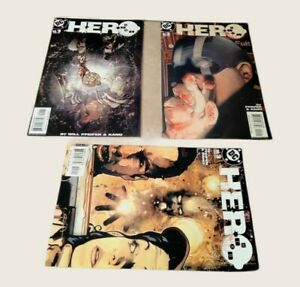 H-E-R-O #1#2#3 High Grade DC Comic Book 2003 PA5-152