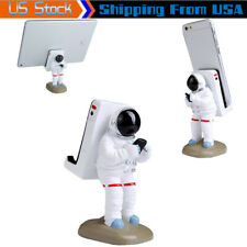 Funny Cute Astronaut Cell Phone Stand For Desktop iPhone Holder Tablet PC Mount