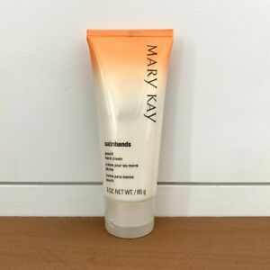 Mary Kay Satin Hands Peach Hand Cream Discontinued - Brand New Full Size