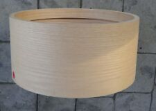 Snare drum shell 6.5 x 14  Oak ten ply with 10 ply Oak rings USA