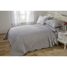Emma Barclay Athena Paisley Motif Bedspread, Quilted - Set - Silver - Double Bed