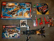 LEGO LOT Space Police Limo (5984) + Atlantis (8060), Characters, Jeep, Box, Inst