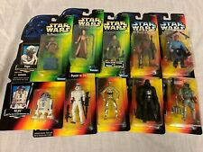 Star Wars Potf & Other Sw Action Figures - New On Card - Your Choice