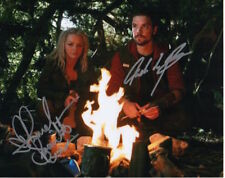 Primeval Photo Signed In Person By Hannah Spearritt & Andrew Lee Potts - D157