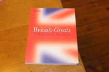 BRITISH GREATS a Celebration of all things Famous History Events People Merullo