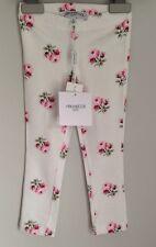 SIMONETTA Designer ROSE Print Leggings Nuovo con etichetta taglia 2-3 anni piccola 18-24 mesi