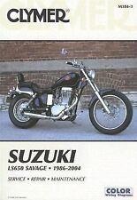 Clymer Suzuki LS650 Savage 1986-2004 (Clymer Motorcycle Repair)-ExLibrary