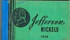 Used Meghrig  coin folder for Jefferson Nickels 1938-1959d