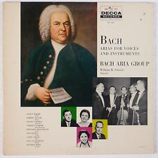 BACH: Arias for Voices, Instruments DECCA Gold Label Greenhouse Wilk NM lp