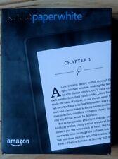 eBook Reader Kindle Paperwhite (7th Generation) 4GB, WLAN mit 328 Büchern in OVP
