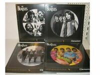 The Beatles 4 Jigsaw Puzzle of 212 Pieces Clementoni LP Collection round New (