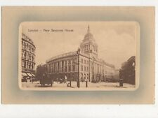 London New Sessions House 1910 Postcard 630a