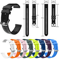 20mm Silikon Armband Uhrenarmband Strap für Garmin Forerunner 245M / 645 MUSIC