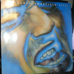 Joe Cocker - Sheffield Steel - LP von 1982