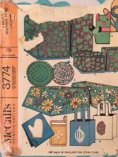 McCall's #8774 Pattern for Cozies, Ironing Board Cover, Garment Bag, & MORE