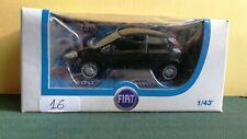Modellino FIAT NUOVA PUNTO, colore nero, scala 1/43