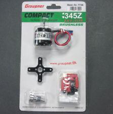 7738 GRAUPNER compact 345z 7.4V - 11.1V sans brosse moteur cage tournante