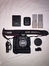 Canon EOS 600d + 50mm F1.8 Lens, Grip, Remote, Lowepro Bag, Batteries, Chargers