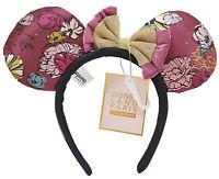 Disneyland Paris Minnie Mouse Boheme Ears Headband Disney Parisian Floral Adults