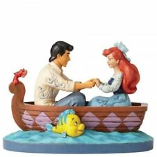 Disney Traditions Waiting For Kiss Ariel & Prince Figurine 4055414