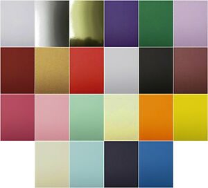 A4 Cardstock 240gsm Wedding Craft choose quantity choose from 22 colours