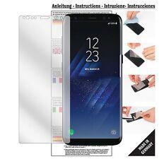 6x Schutzfolie für Samsung Galaxy S8 Plus Folie Displayschutzfolie klar