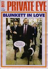 PRIVATE EYE 1113 - 20 Aug - 2 Sep 2004 - David Blunkett - BLUNKETT IN LOVE