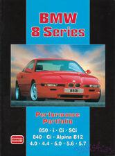 BMW 850 BOOK 840 PORTFOLIO 850i 840i 850CSi V12 V8 E31 8 Series 840Ci 850Ci