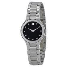 Movado Serio Diamond Museum Dial Ladies Watch 0606491