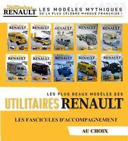 Utilitaires Renault - Fascicules d'accompagnement (au choix)