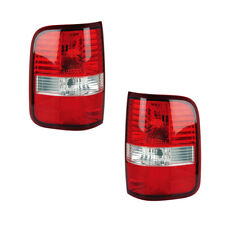 Tail Lights Rear Back Lamps Pair Set for 04-06 Ford F-150/F-250 Left & Right