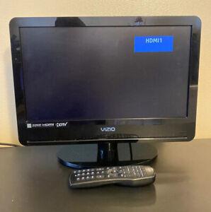 """Vizio VA19L HDTV10T Black 19"""" HD 720p LCD HDMI TV Television PC Computer Monitor"""
