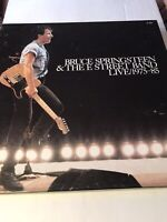 BRUCE SPRINGSTEEN & THE E STREET BAND LIVE 1975-85 Vinyl 5-LP BOX SET (VG+) 1986