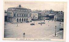 cholet   place travot et le théâtre