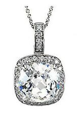 """Sterling Silver Cubic Zirconia 18"""" Necklace"""