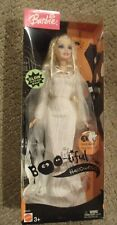 Boo-Tiful Halloween Barbie Blanco Fantasma Vestido Brillante 2004
