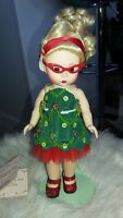 "MADAME ALEXANDER doll 8"" OH CHRISTMAS TREE doll Fancy Nancy MINT Adorable rare"