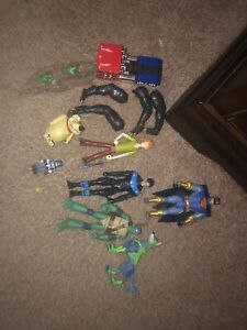 random action figure lot Custom Fodder Ninja Turtles DC Transformers Scooby Doo